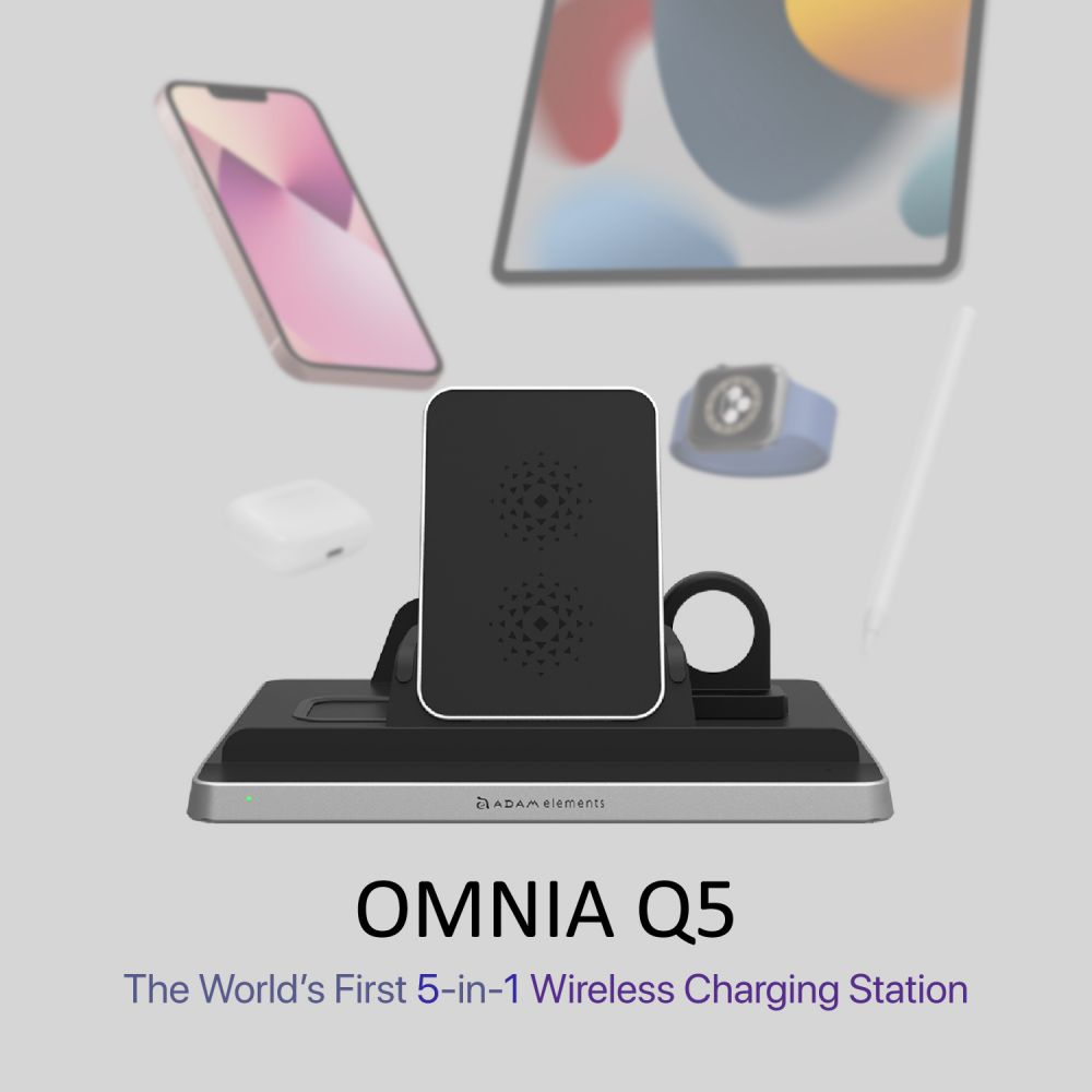 [Pre-Order] OMNIA Q5 5-in-1 Wireless Charging Station