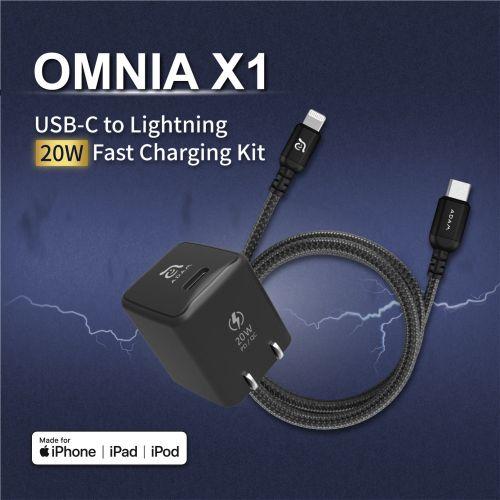 OMNIA X1 USB-C to Lightni...