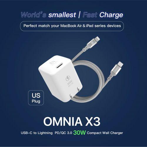 OMNIA X3 USB-C to Lightni...