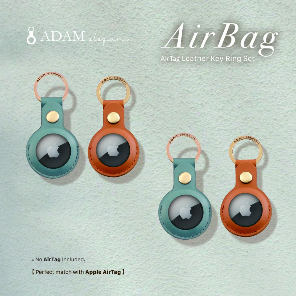 [Pre-Order] AirTag Leather Key Ring