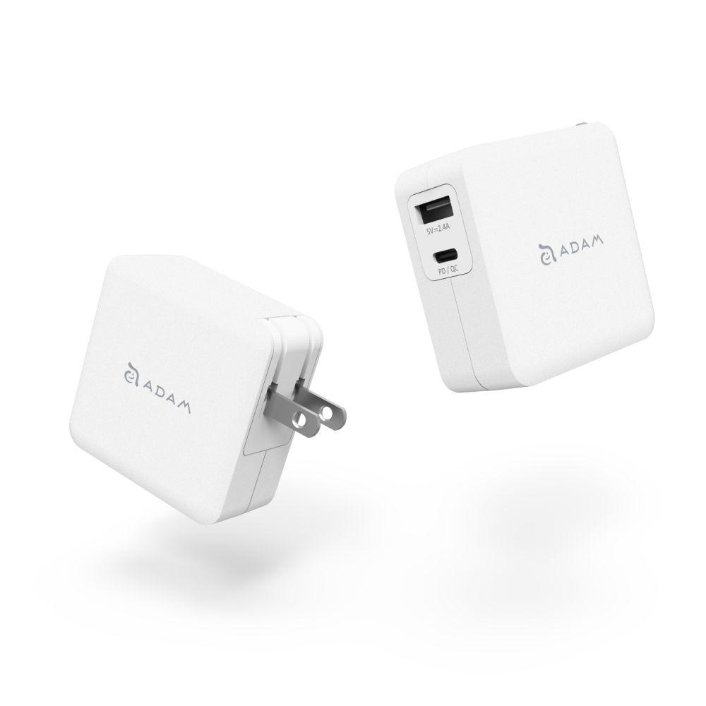 OMNIA F2 USB-C/USB-A PD 3.0 Fast Wall Charger 30W - US Plug Version