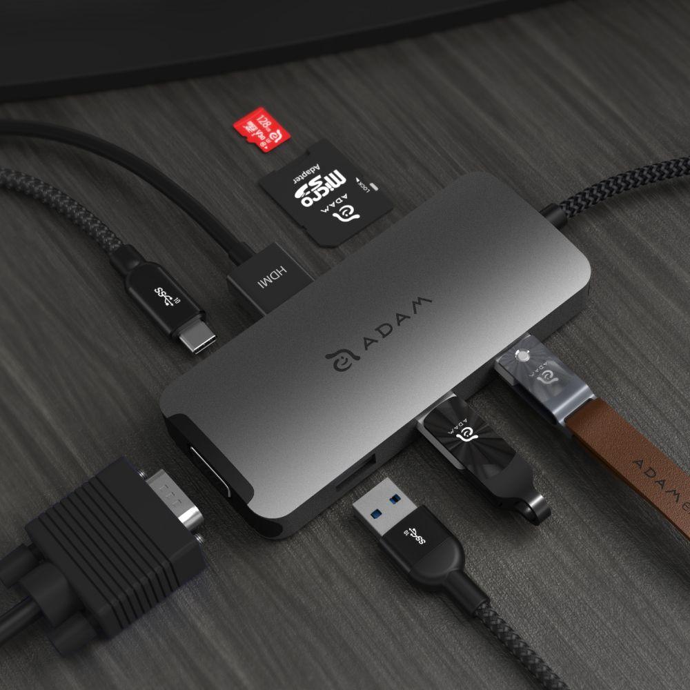 CASA HUB A08 USB-C 3.1 8-in-1 Port Hub